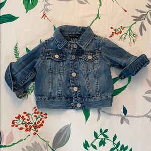 Baby Gap Denim jacket 0-6m
